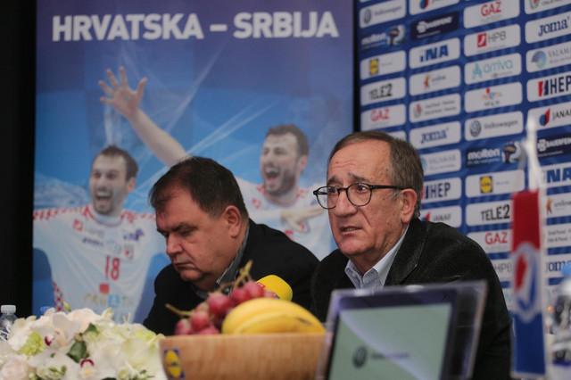 Trener Hrvatske reprezentacije Lino Červar