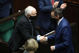 Morawiecki: Wizja Polski Jarosława Kaczyńskiego stawia polską rację stanu na pierwszym miejscu