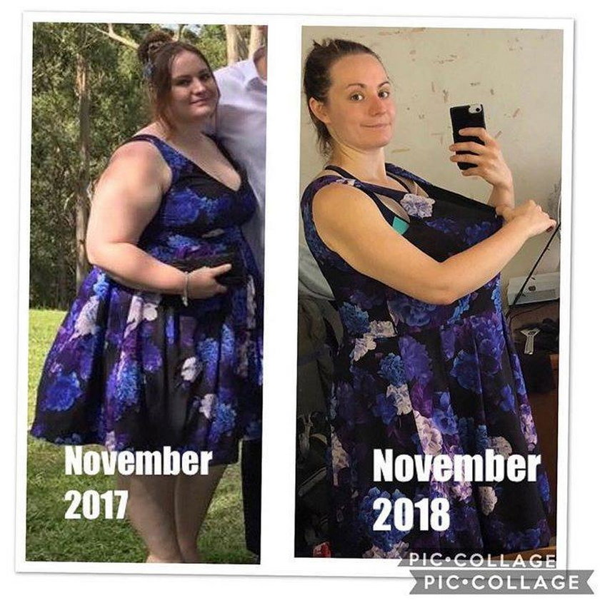 Elise Dunstan (24 l.) przed i po metamorfozie