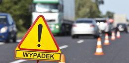 Wypadek autobusu w Zduńskiej Woli. Wielu rannych