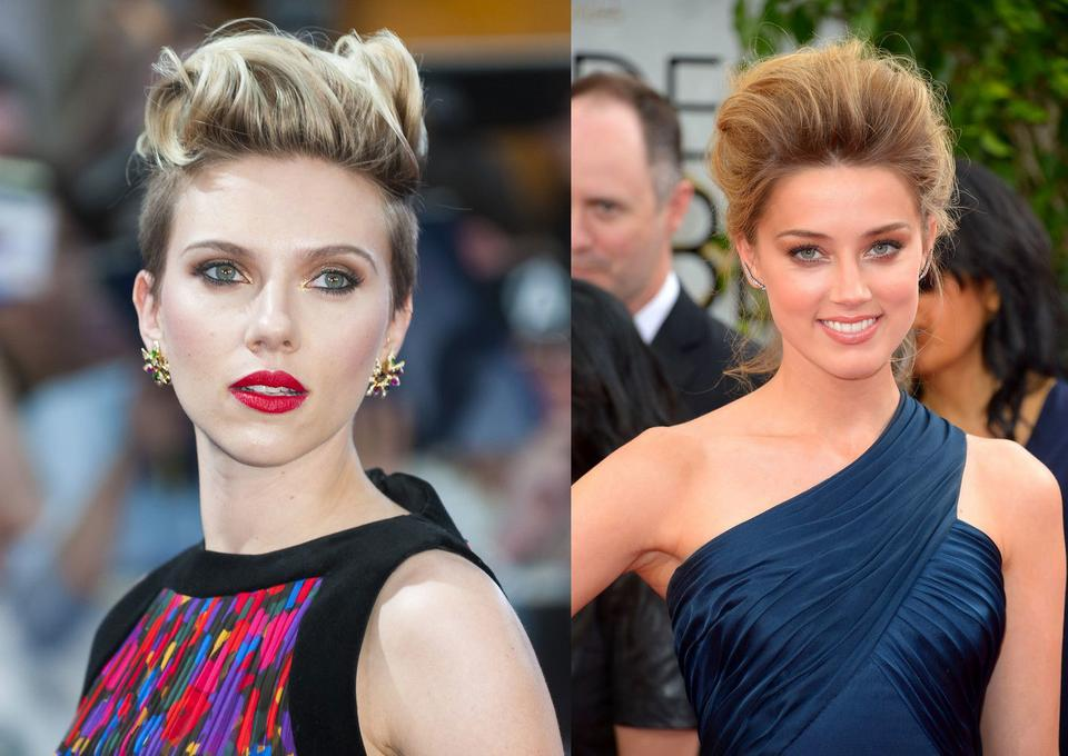 Scarlett Johansson i Amber Heard