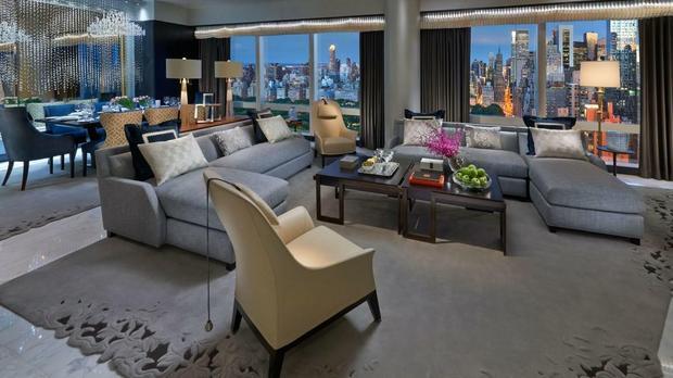 Suite 5000, Mandarin Oriental