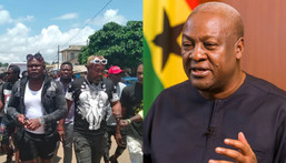 John Mahama covered cost of my mother's funeral – Bukom Banku thanks ex-President