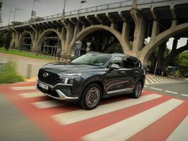 Hyundai Santa Fe – w sam raz na rodzinne wojaże