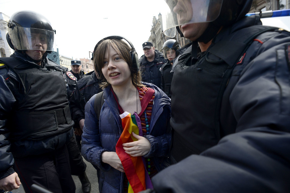 RUSSIA-LABOUR-MAYDAY-DEMO-GAY-RIGHTS
