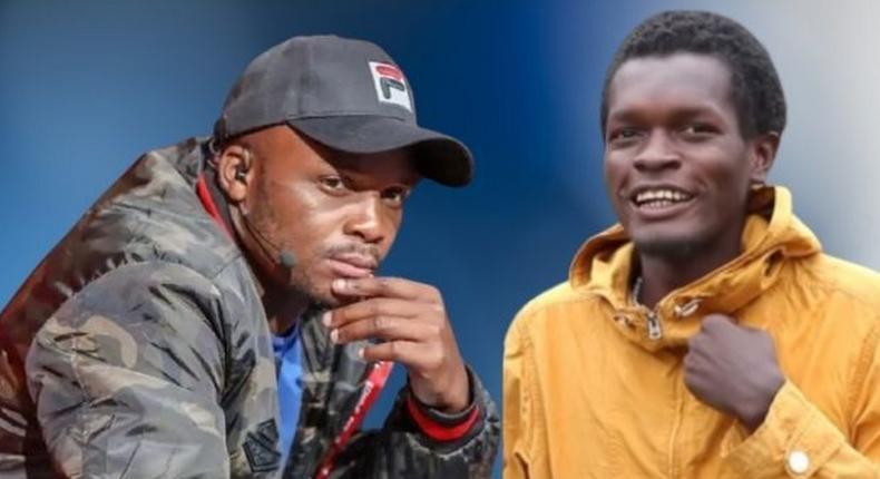Jalang'o and Vincent Mboya