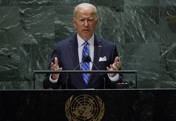 Joe Biden na forum Zgromadzenia Ogólnego ONZ