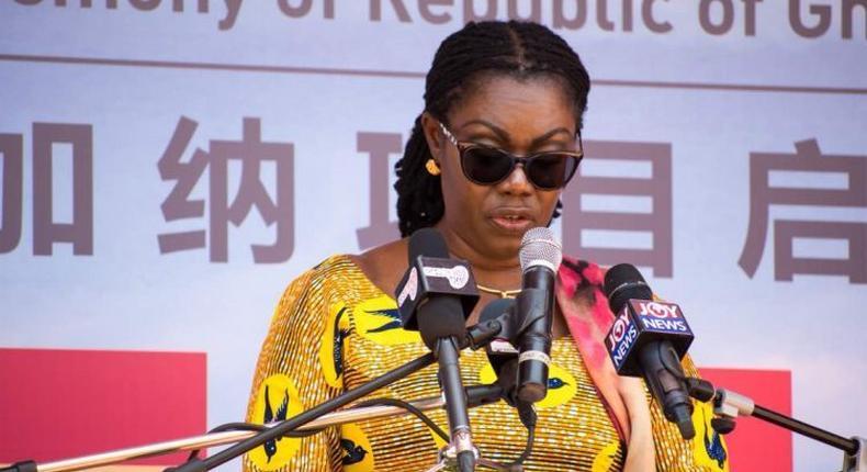 Communication Minister, Ursula Owusu Ekuful