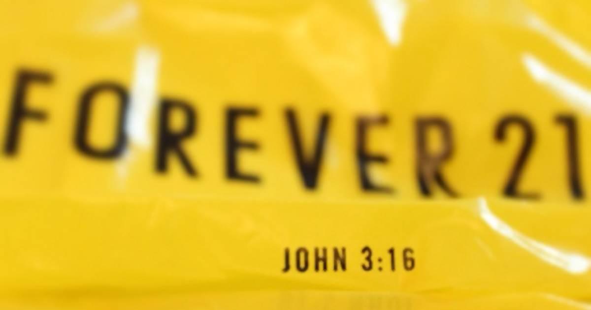 Dieser Bibelvers steht auf jeder Forever-21-Einkaufstüte
