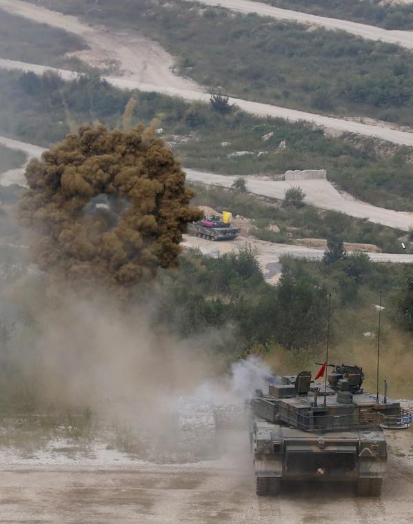 Ćwiczena wojskowe w Korei Południowej