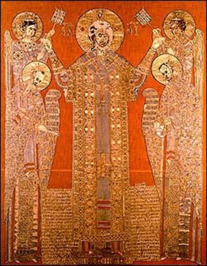 """U delu """"Moljenje gospodu Isusu Hristu"""" Jefimija počinje svoj čuveni zlatovez i prvi put se oglašava monaškim imenom"""