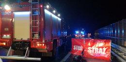 Śmiertelny wypadek na autostradzie A1. Dwie osoby zginęły