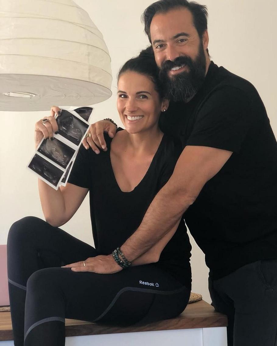 Nataša Vukoje sa suprugom