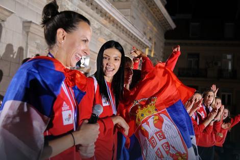 Milena Rašić i Tijana Bošković
