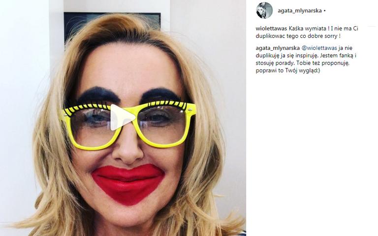 Agata Młynarska na Instagramie