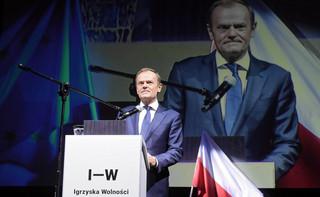 Tusk: Jeśli Piłsudski i Wałęsa mogli pokonać bolszewików, to dlaczego wy nie mielibyście pokonać współczesnych bolszewików