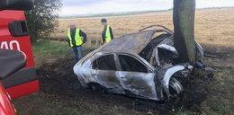 Tragedia w Opolskiem. Kierowca spłonął żywcem
