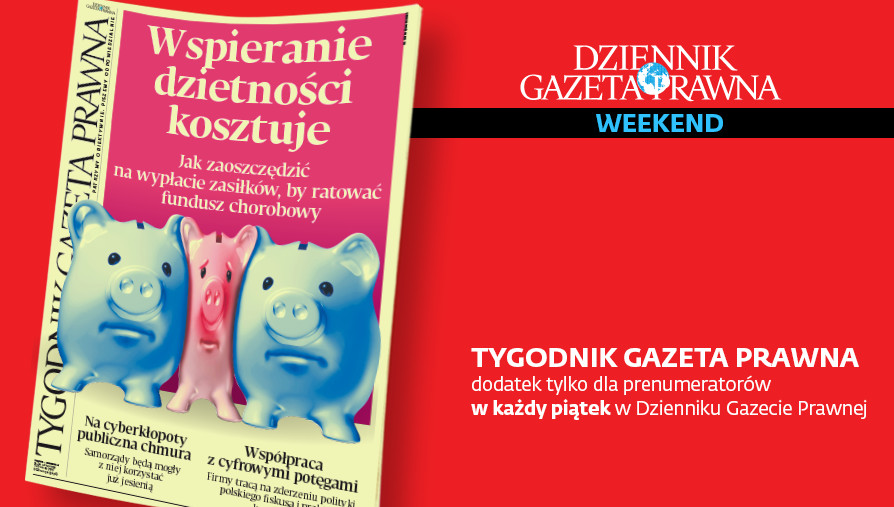TGP. Tygodnik Gazeta Prawna. 12 lipca 2019