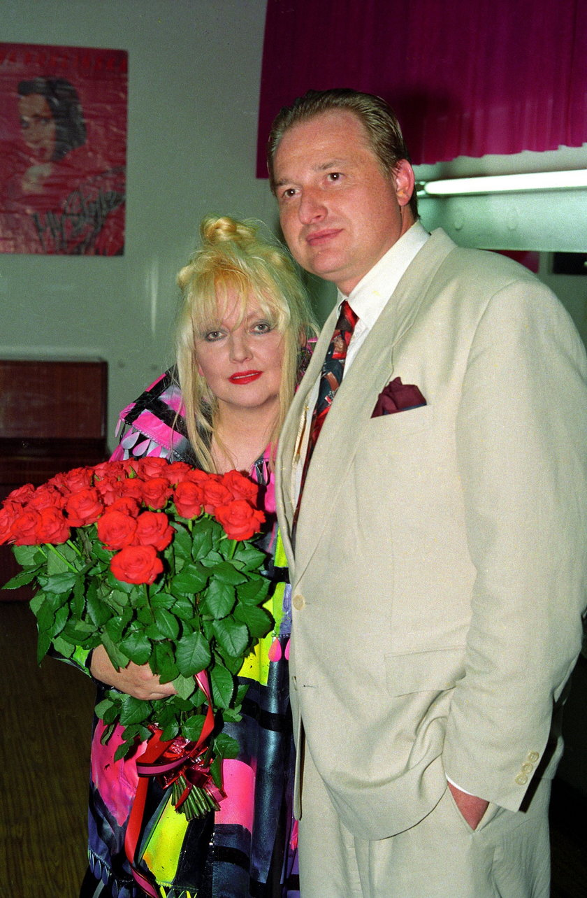 Andrzej Dużyński z żoną