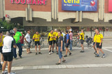 Biciklisti na cilju