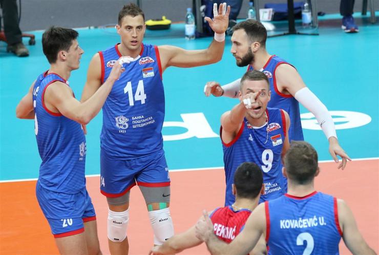Odbojkaška reprezentacija Srbije, odbojkaška reprezentacija Belgije