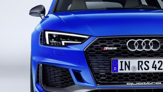 """Audi RS4 Avant – ma 450 KM i przyspiesza do """"setki"""" w 4.1 s"""