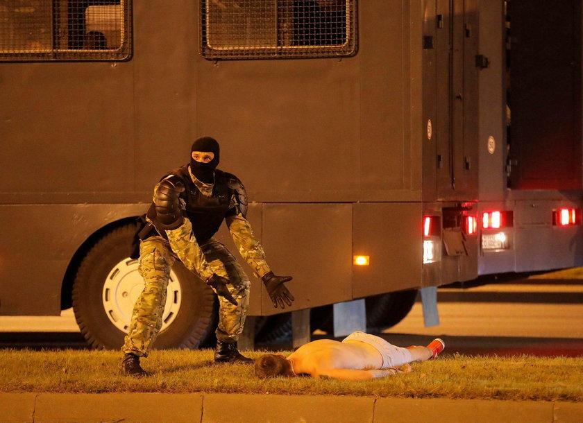 Protesty na Białorusi. Są ranni