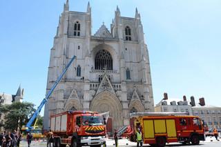 Pożar w katedrze w Nantes. Trwa akcja gaśnicza