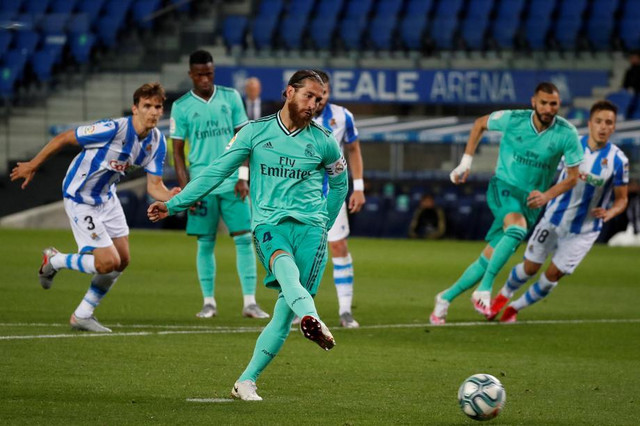 Serhio Ramos gol sa bele tačke