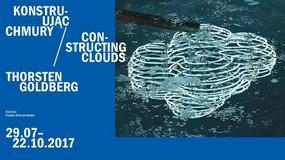 Neonowe chmury - wystawa Thorsten Goldberg w Orońsku