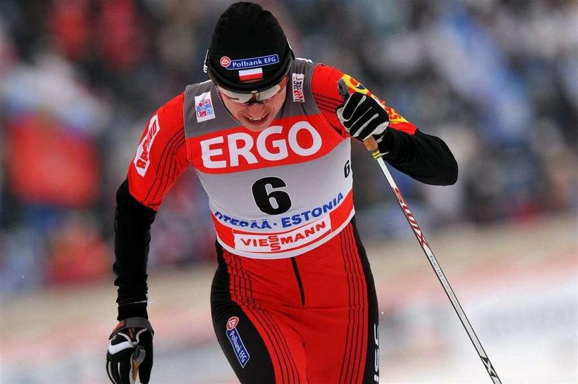 Justyna Kowalczyk w biegu na 10km