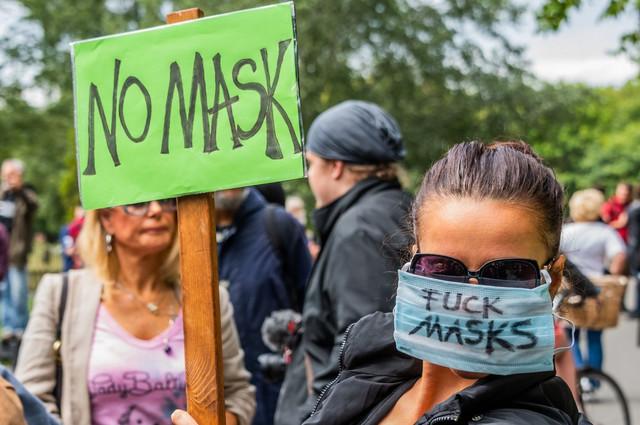 Protest u Hajd parku
