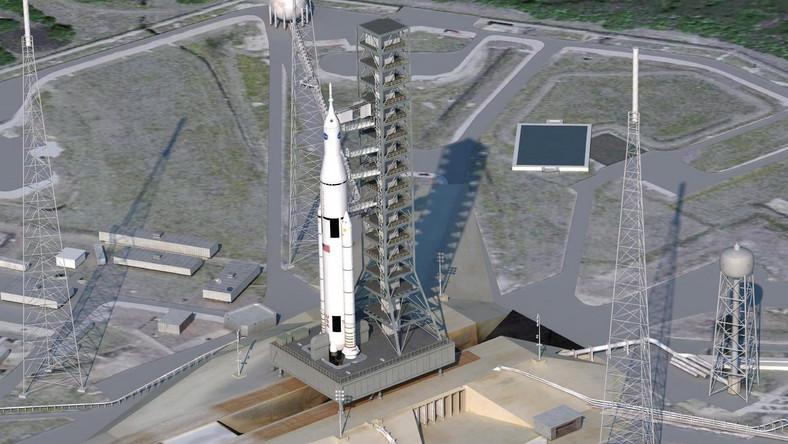 NASA zbuduje wielką kosmiczną rakietę nośną