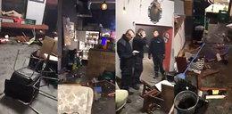 Napad na fanów Ajaxu. Kibole zdemolowali klub w Warszawie