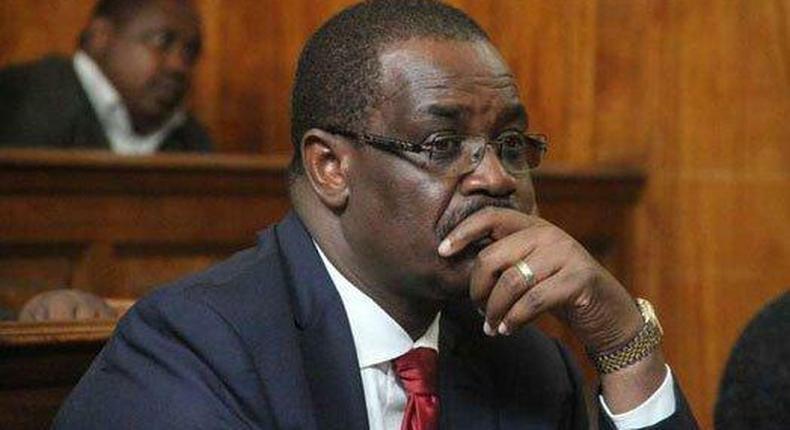 Former Nairobi Governor Evans Kidero in court (Twitter)