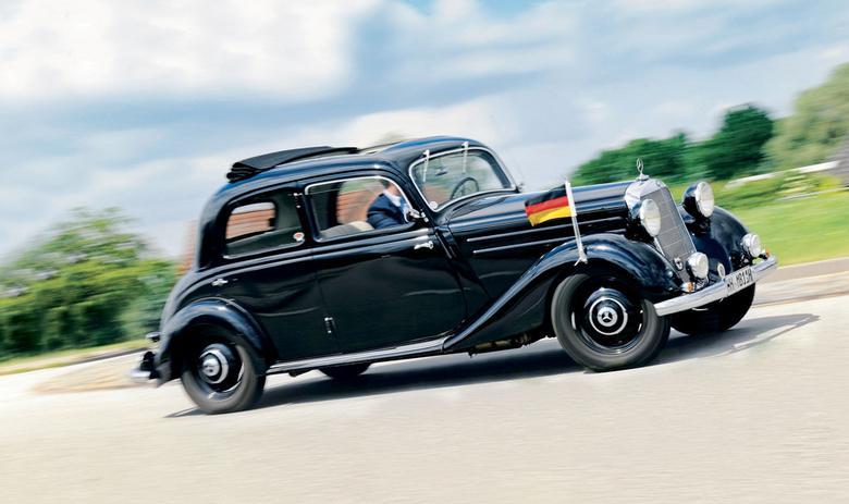 Mercedes 170 pozostał po wojnie na placu boju. Pozwolono mu dotrwać do emerytury na służbie. Od 1949 roku jego zadaniem było oswajanie nabywców z urokami silnika Diesla.