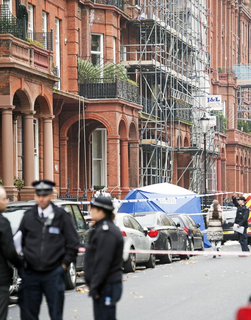 Remontowany apartamentowiec w Londynie