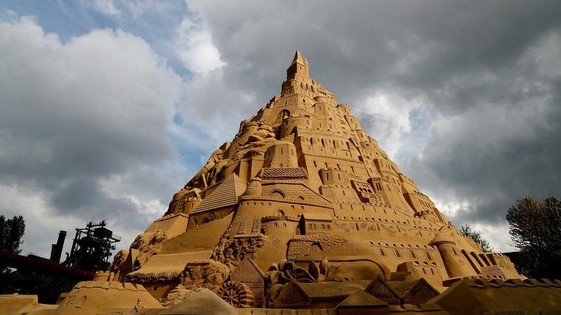 W Duisburgu zbudowano rekordowy zamek z piasku
