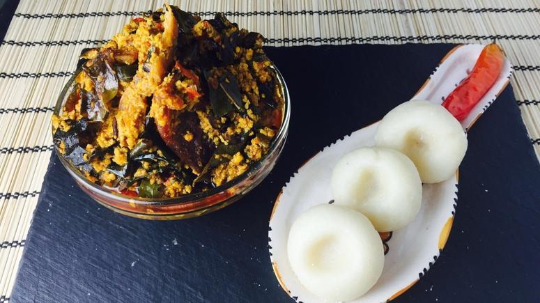 Traditional meals: Fingerlickin' fufu and egusi soup (Recipe) [ARTICLE] -  Pulse Nigeria