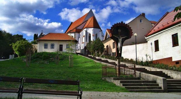 Kosciół pw. Św. Jerzego w miasteczku Swięty Jerzy