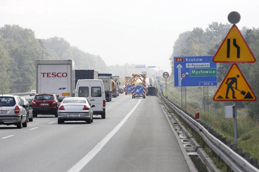 Mysłowice. Rozbudowa WęzłaMysłowice na autostradzie A-4