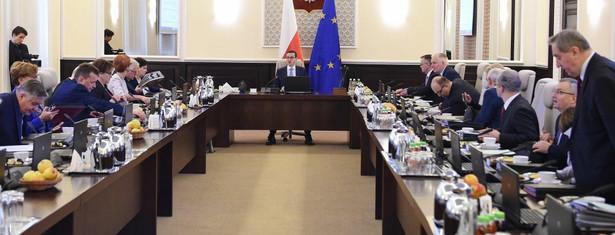 Posiedzenie rządu Mateusza Morawieckiego po rekonstrukcji