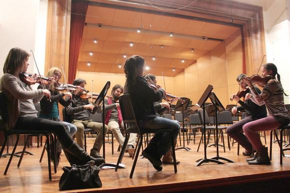 Prve violine orkestra