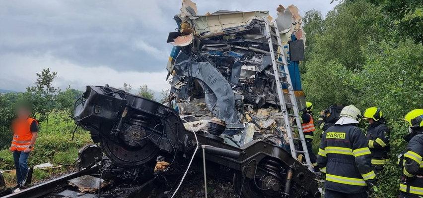 Zderzenie dwóch pociągów w Czechach. Są ofiary śmiertelne