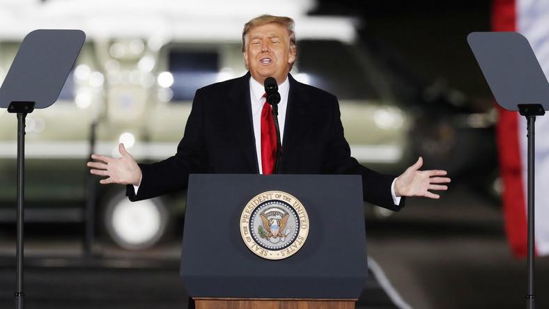 Donald Trump EPA/ERIK S. LESSER Dostawca: PAP/EPA.