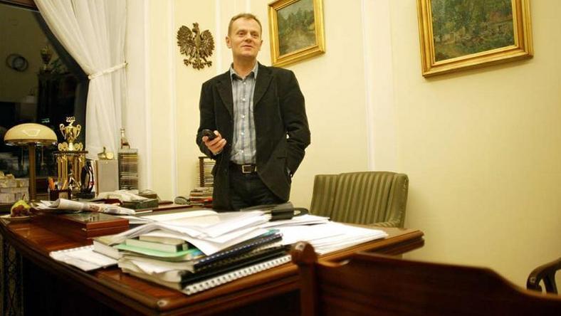 Donald Tusk w przeszłości, fot. Newspix