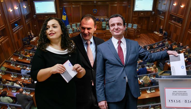 Kosovo, izbori, Aljbin Kurti, Fatmir Ljimaj, Vjosa Osmani, kombo