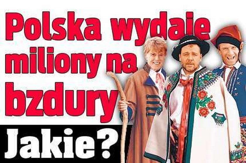 Polska wydaje miliony na bzdury. Jakie?