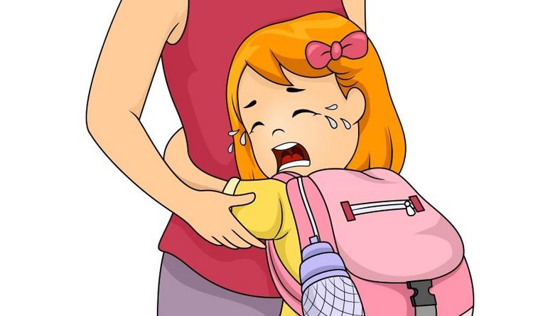 Lęk separacyjny to nie tylko problem niemowląt.
