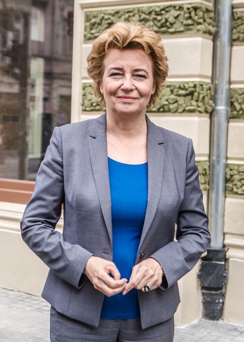 Hanna Zdanowska, prezydent Łodzi z zarzutami po przesłuchaniu w Prokuraturze Okręgowej w Gorzowie Wielkopolskim